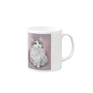 ノルウェージャンのメイさん1 Mugs