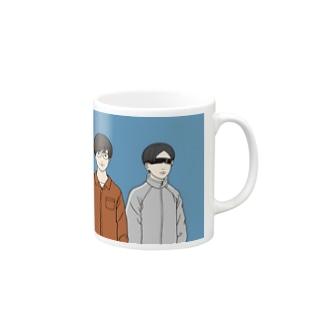 三種の神器TV公式イラストグッズ Mugs