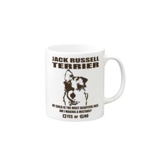 JACK RUSSELL TERRIER(PL16JK5001) Mugs