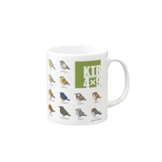 KTR 4×9(グリーン) Mugs