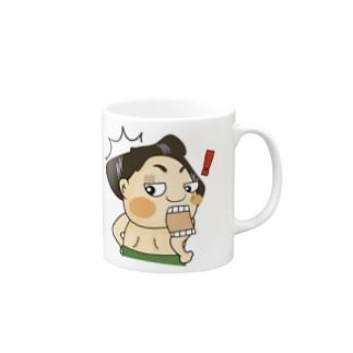 「ワォッ!」〜どすこい!気ままに相撲ライフ〜 Mugs