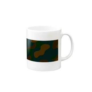 Meisai_Camouflage Mugs