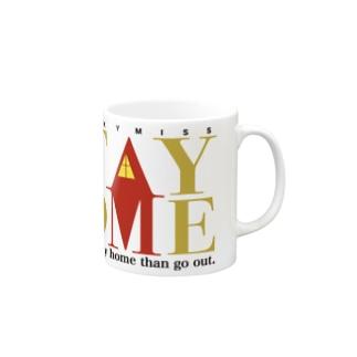 おうちで明かりをともそうコップ Mugs