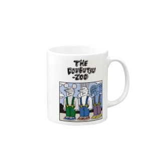 THE DOUBUTSU-ZOO SHOPのTHE DOUBUTSU-ZOO Mugs