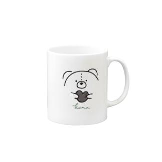 モノトーンくま Mug