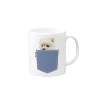 ポメラニアンのポメくん Mug