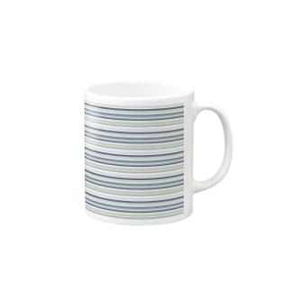 stripes Mugs