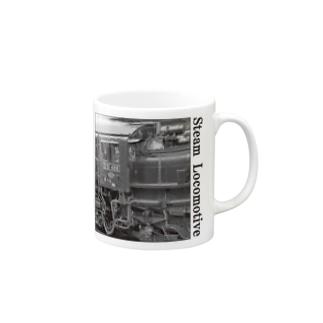 D51498 運転席周辺 黒いレタリング (モノクロフォト) Mugs