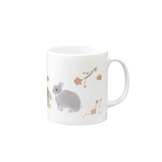 梅と兎 Mugs