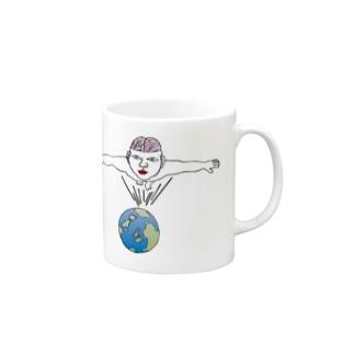 Mr.ブレインマン Mugs