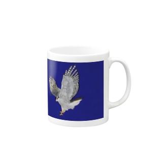 オオタカ_E〜美しい猛禽類〜 Mugs
