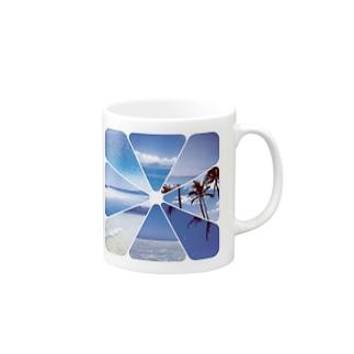 Blue Hawaii Mugs