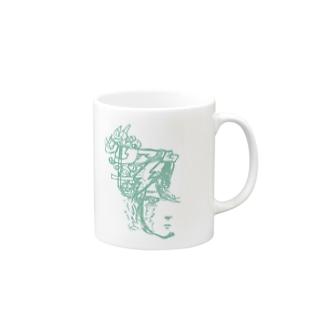 あなたにしかやさしくしたくない Mugs