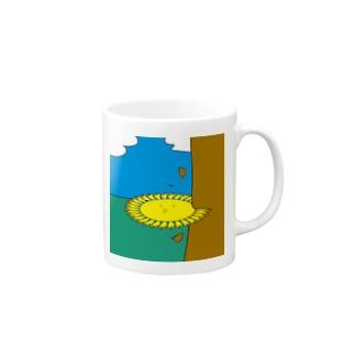 ノコギリテノヒライドン マグカップ