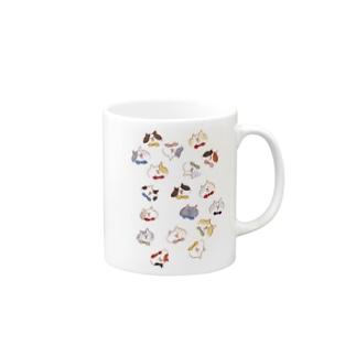 ネコたち マグカップ
