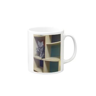 colour BOXチキ Mugs