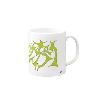 ヤサイキライ mag Mugs