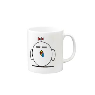 ヨダレ小鳥 Mugs