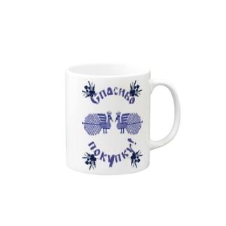 東欧な買い物袋 Mugs