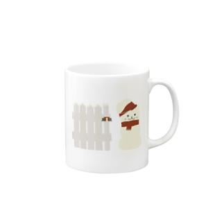 スノーマン Mugs