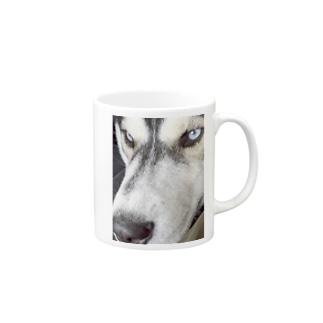 キリリ ハスキー Mugs