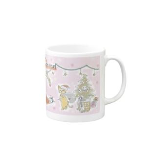 クリスマスニャゴカップ Mugs
