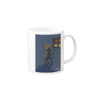 黄昏猫ちゃん Mug
