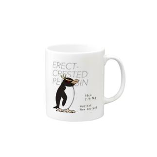 マユダチペンギンマグカップ Mug