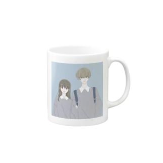 カレカノおそろコーデ Mugs
