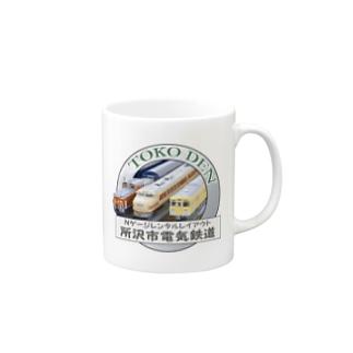 トコ電オリジナルロゴマーク Mugs