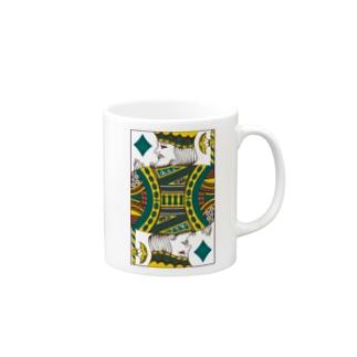 green13 card Mug
