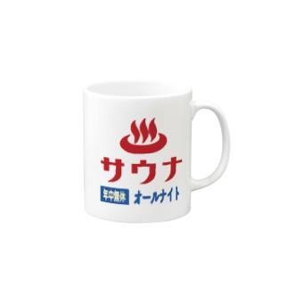 レトロサウナ Mugs