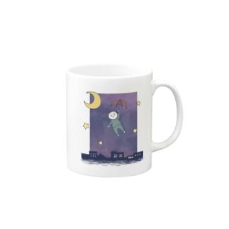 お空を漂う Mugs
