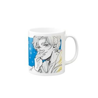 パーカー笑顔の男の子 Mugs