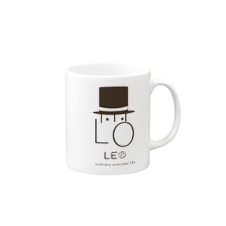 LEO ハット Mugs