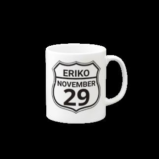 夢川えりこマートのERIKO 29カップ Mugs