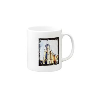 覗く大聖堂 Mugs