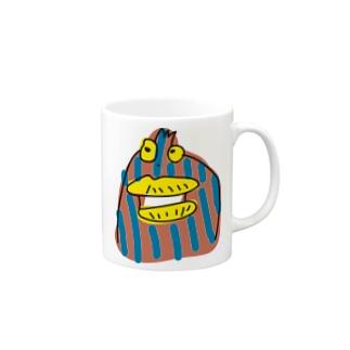 変な生き物 マグカップ
