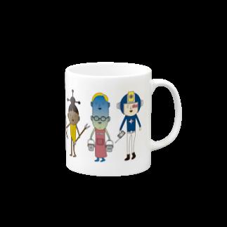OZA_WORLDのOZA_WORLDキャラのマグ Mugs