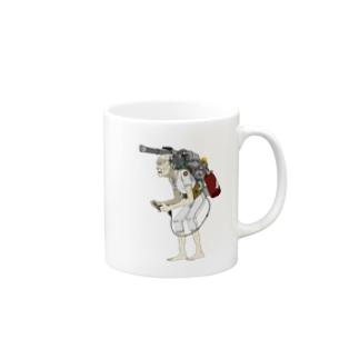 なおたけのサイバー爺さん要介護 Mugs