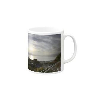 夕焼けB Mugs