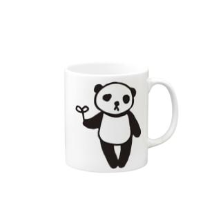 らくがきシリーズ★ふにゃふにゃパンダ Mugs
