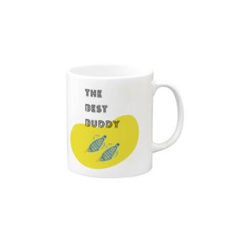 バディとおそろい テングカワハギ Mugs