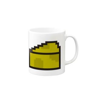 チーズアイコン Mugs