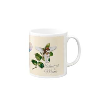 botanical-MOMO-02 Mugs