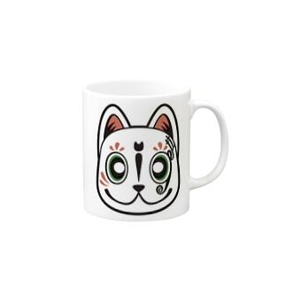 半妖洋風湯呑2 Mugs