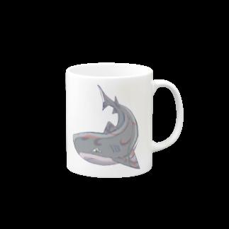 星野未兎の金継ぎのサメ Mugs