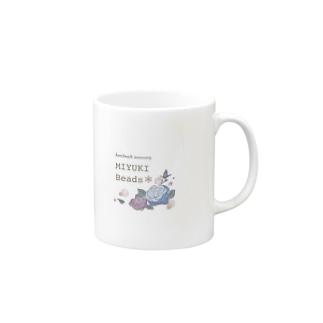 MIYUKI Beads*のMIYUKI Beads ロゴグッズ Mugs
