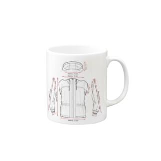 トランスフォームしそうなパーカー Mugs