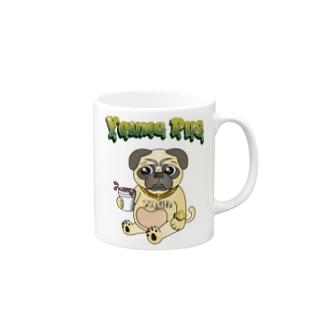 YOUNG PUG Mugs